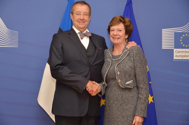 Visit of Toomas Hendrik Ilves, President of Estonia, to the EC