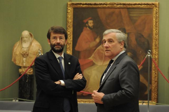 Visite de Ferdinando Nelli Feroci à Naples