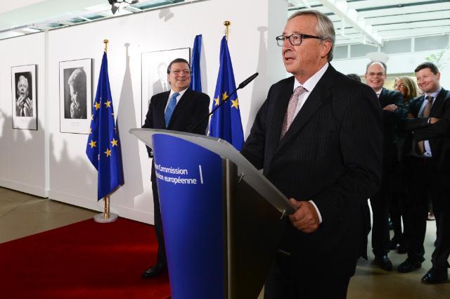 Unveiling ceremony of the portrait of José Manuel Barroso, President of the EC
