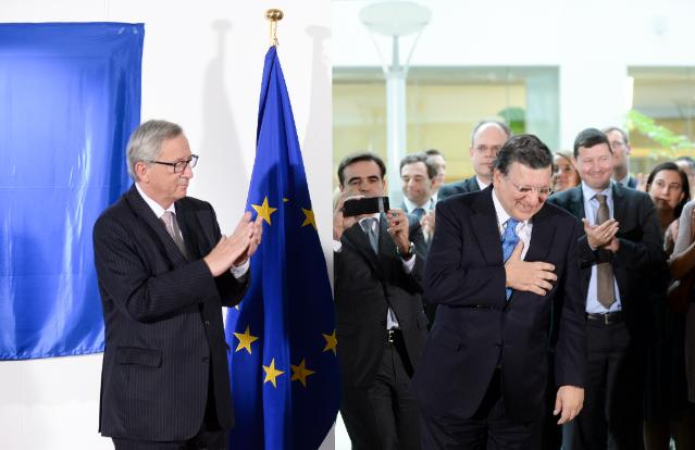 Unveiling ceremony of the portrait of José Manuel Barroso, President of the EC