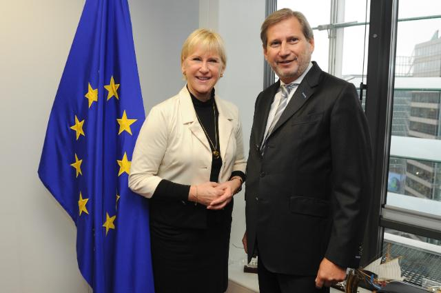 Visit of Margot Wallström, Swedish Minister for Foreign Affairs, to the EC