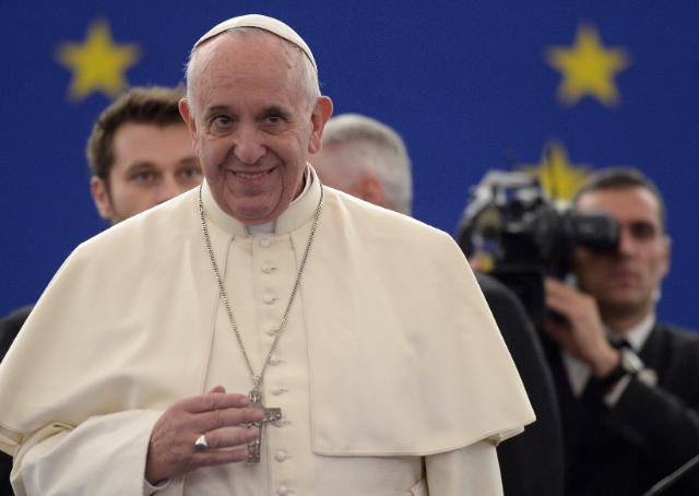Participation of Pope Francis in the EP plenary session