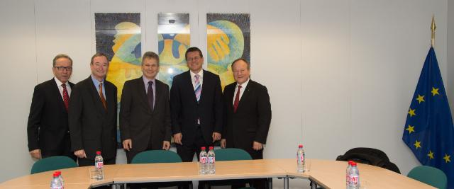 Visite de représentants du Partenariat social autrichien à la CE