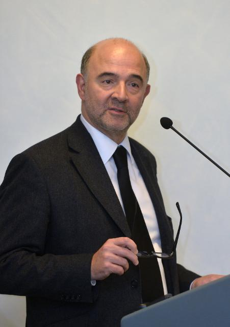 Visit of Pierre Moscovici, Member of the EC, to Italy