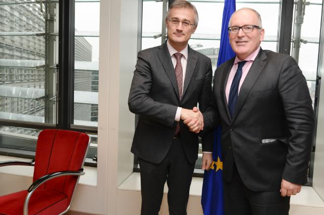 Visit of Félix Braz, Luxembourgish Minister for Justice, to the EC