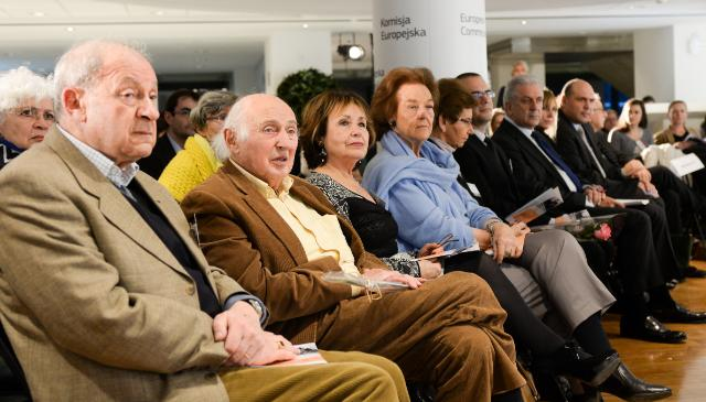 Ceremony held on the occasion of the International Holocaust Remembrance Day, 27/01/2015