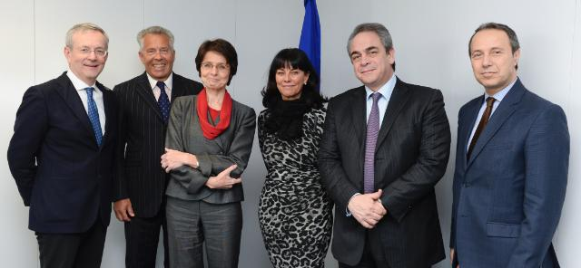 Visit of the Members of the presidency of the Eurochambres to the EC