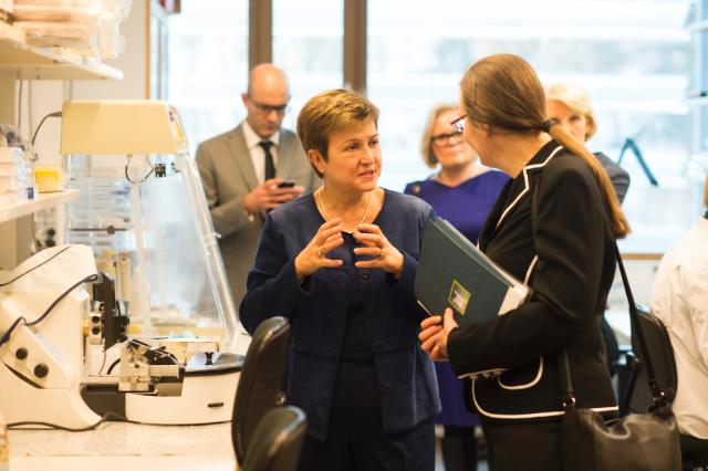 Visit of Kristalina Georgieva, Vice-President of the EC, to Finland