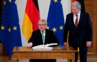 Visit of Jean-Claude Juncker, President of the EC, to Germany