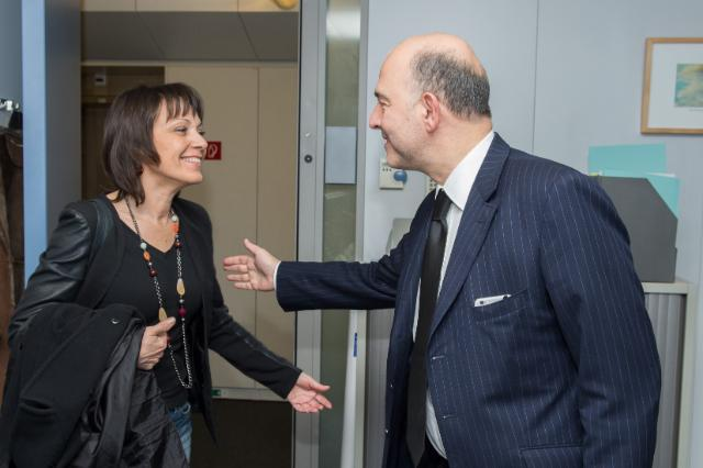 Visit of Sylvie Guillaume, Member of the EP, to the EC