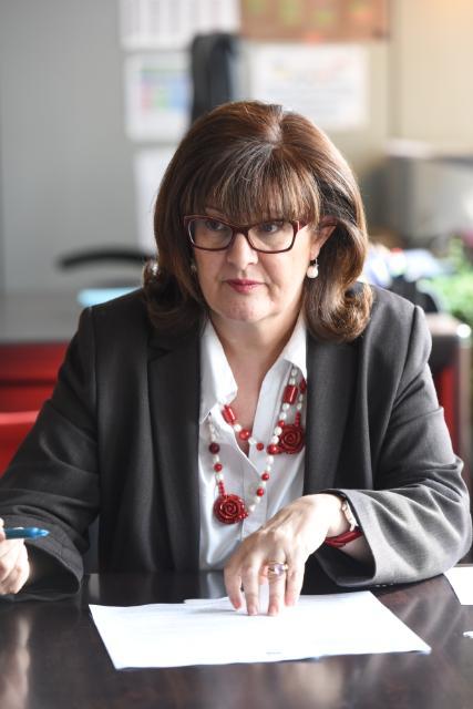 Paraskevi Michou, directrice générale f.f. de la DG -Justice et consommateurs de la CE