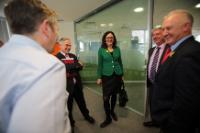 """Illustration of """"Visit of Cecilia Malmström, Member of the EC, to Ireland"""""""