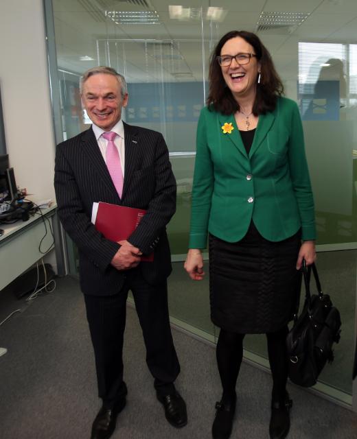 Visit by Cecilia Malmström to Dublin
