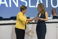 Award ceremony of the 'Juvenes Translatores' 2015 translation contest, with the participation of Kristalina Georgieva, Vice-President of the EC