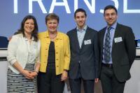 Cérémonie de remise des prix du concours de traduction 2015