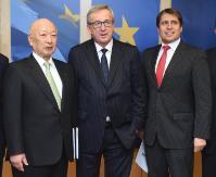 Visite d'une délégation de la Table ronde économique UE-Japon à la CE
