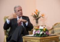 Visite de Dimitris Avramopoulos, membre de la CE, en Egypte