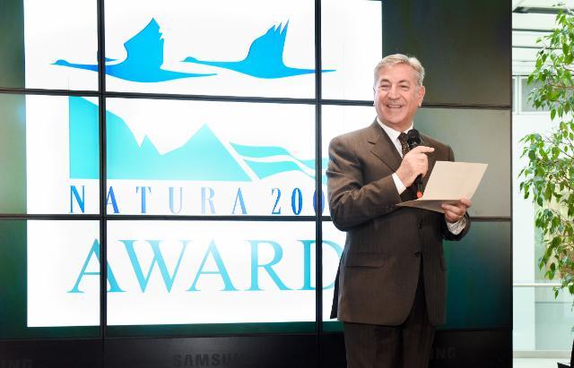 Cérémonie de remise de prix du concours Natura 2000, avec la participation de Karmenu Vella, membre de la CE