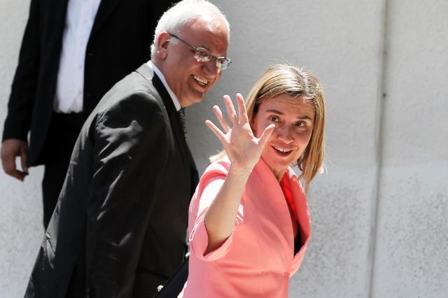 Visite de Federica Mogherini au Moyen-Orient