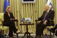 Visit of Federica Mogherini, Vice-President of the EC, to the Middle East