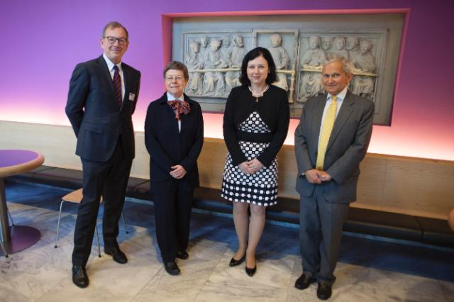 Visit of Vĕra Jourová, Member of the EC, to the Netherlands