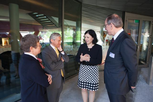 Visite de Vĕra Jourová, membre de la CE, aux Pays-Bas