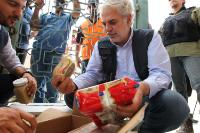 """Illustration of """"Visit of Christos Stylianides, Member of the EC, to Iraq"""""""