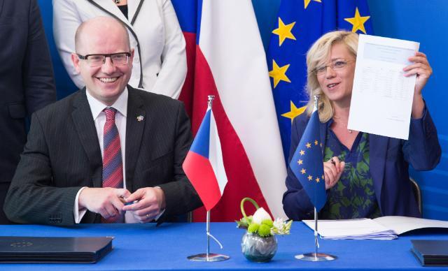 Signature du programme opérationnel 'Assistance technique' pour la République tchèque pour la période 2014-2020