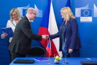 """Illustration of """"Signature of the operational programme """"Technical Assistance"""" for the Czech Republic for the 2014-2020 period"""""""