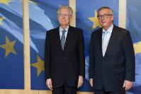 Visit of Mario Monti, Chair of the High-Level Group on Own Resources, to the EC