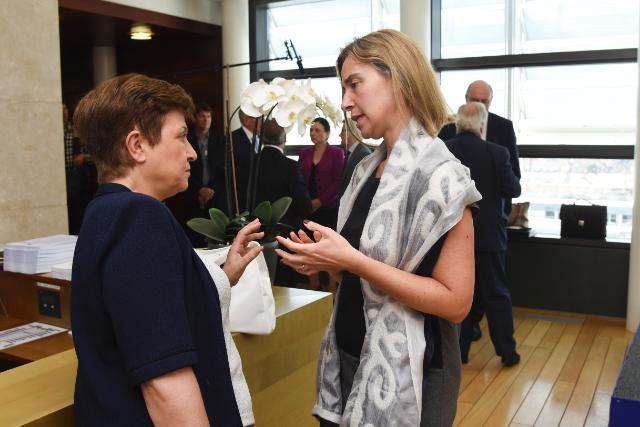 Visit of Mario Monti to the EC