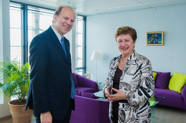 Visit of Erlends Calabuig, Director of Euranet Plus, to the EC