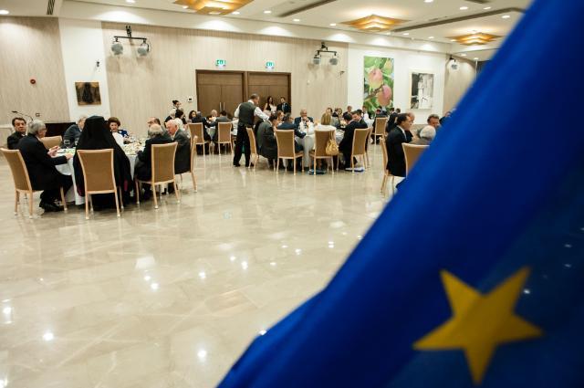 Visite de Jean-Claude Juncker, président de la CE, à Chypre