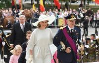Participation de Jean-Claude Juncker, au Te Deum à l'occasion de la fête nationale belge