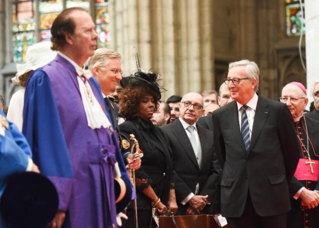 Participation of Jean-Claude Juncker, to the Te Deum on the occasion of the Belgian National Day