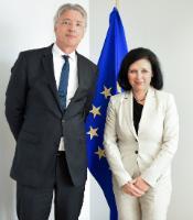 Visit of Ulrich Schellenberg, President of the German Bar Association, to the EC