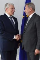 Visit of Taïeb Baccouche, Tunisian Minister for Foreign Affairs, to the EC