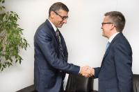 Visit of Rajeev Suri, President and CEO of Nokia Corporation, to the EC