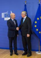 Visit of Isa Mustafa, Kosovan Prime Minister, to the EC