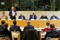 Participation of Corina Crețu, Member of the EC, in the High Level Panel on EU Funding for Roma Inclusion, organised at the EP
