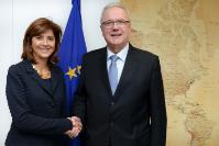 Visit of María Ángela Holguín, Colombian Minister for Foreign Affairs, to the EC