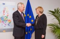 Visit of Hans G. Klemm, US Ambassador to Romania, to the EC