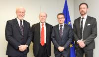 Visit of Francisco Marin, Director General of the Spanish Centre for the Development of Industrial Technology (CDTI), to the EC