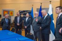 Signing ceremony of the grant agreement to support the project of the Gas Interconnector between Finland and Estonia - Balticconnector