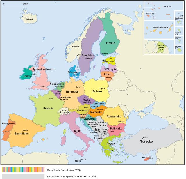 Ec Audiovisual Service Photo: Europe Map In English At Infoasik.co