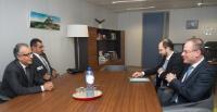 Visit of Salman bin Ebrahim Al-Khalifa, President of the AFC, to the EC