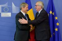 Visit of Dacian Cioloş, Romanian Prime Minister, to the EC