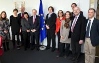 Visit of Inland waterways representatives, to the EC