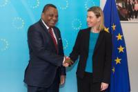 Visite de Jean-Claude Gakosso, ministre congolais des Affaires étrangères et de la Coopération, à la CE