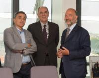 Visite d'Euclide Tsakalotos, ministre grec des Finances, et George Stathakis, ministre grec de l'Economie, des Infrastructures, du Développement et du Tourisme, à la CE